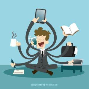 administrador multitarefa