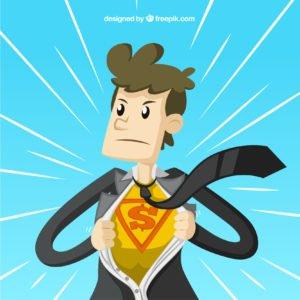 o super heroi de vagas para administrador de empresas