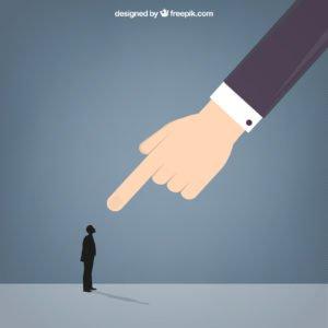 O experiente e o jovem administrador e a auto responsabilização