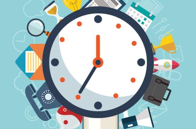 A gestão do tempo na prática