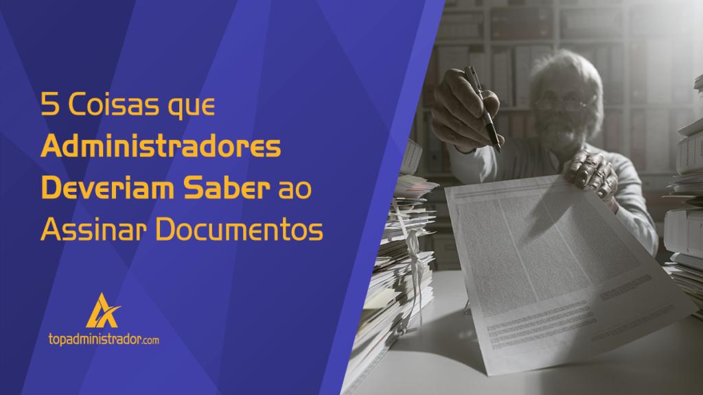assinar documentos