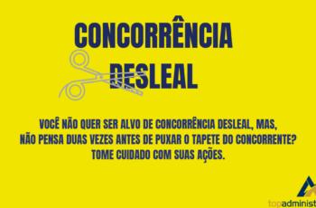 Concorrência Desleal: Pimenta nos olhos dos outros é refresco.